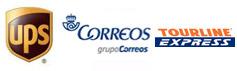Envíos con UPS, Correos y Tourline Express